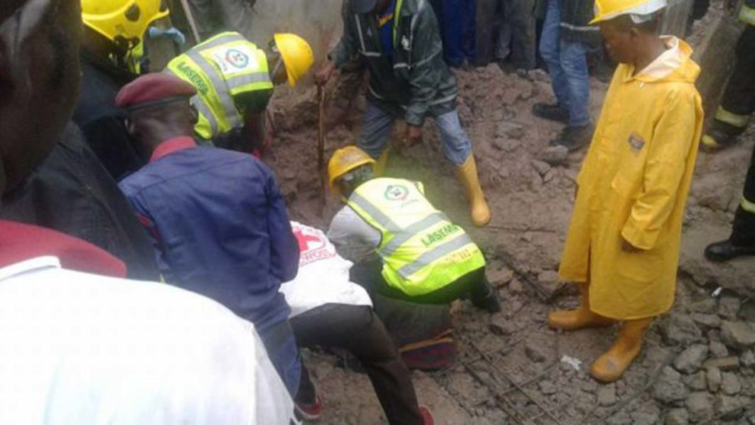Mother, daughter die in another Lagos building collapse