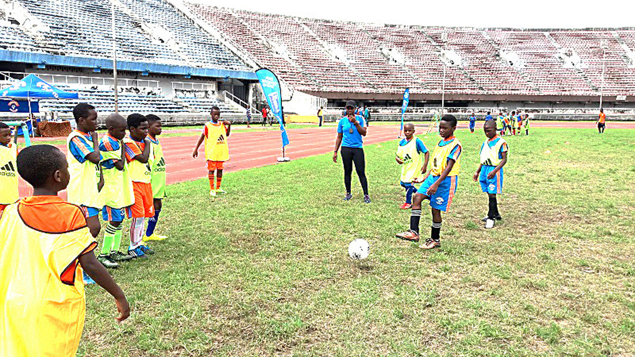 SPORT: Cowbell/Multisports holiday football camp opens in Lagos