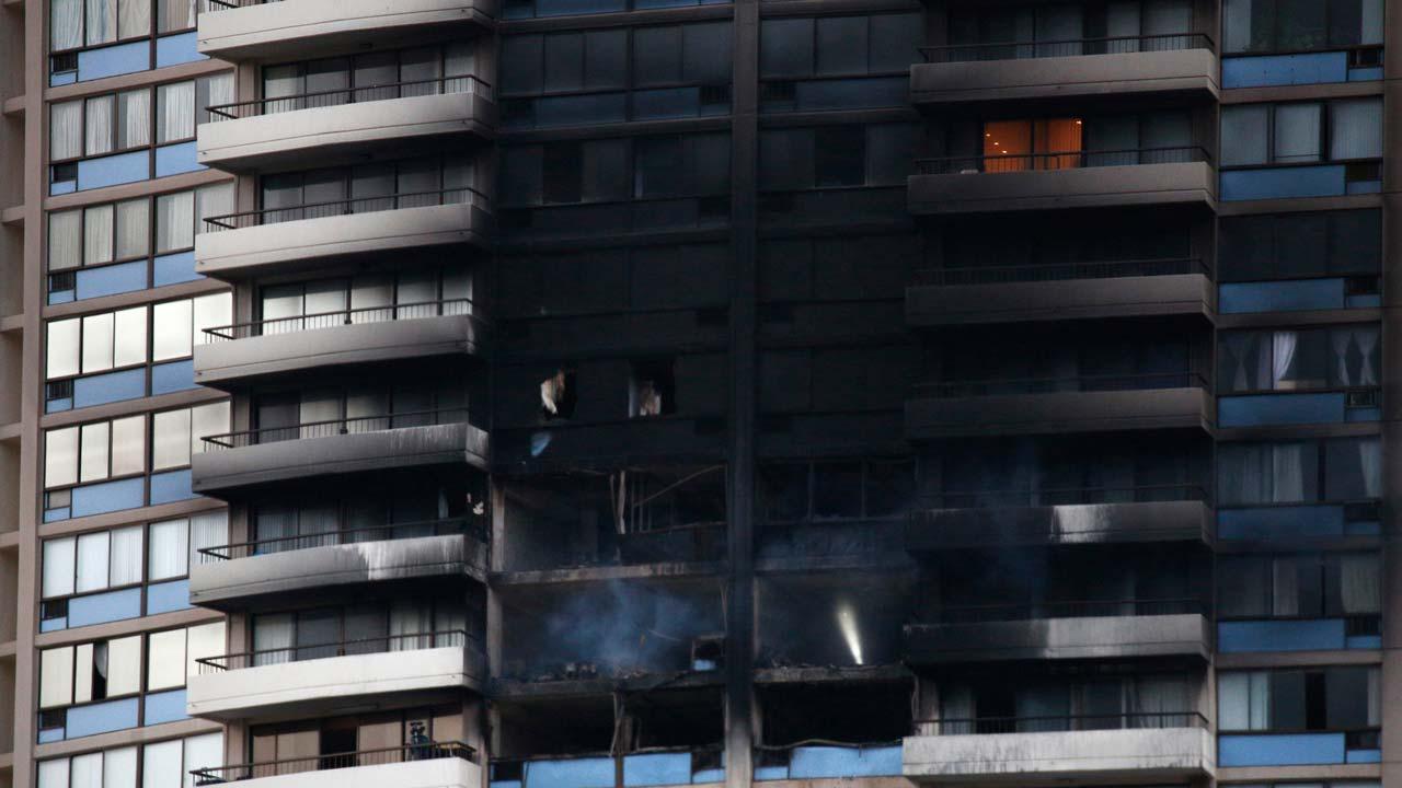 At least three dead in Honolulu tower block fire