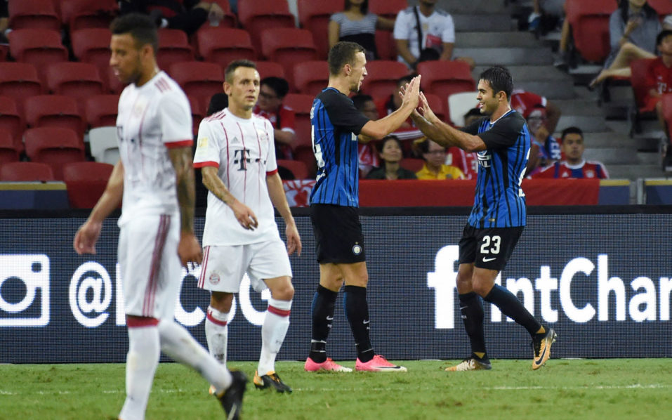 SPORT: Two-goal Eder sinks Bayern
