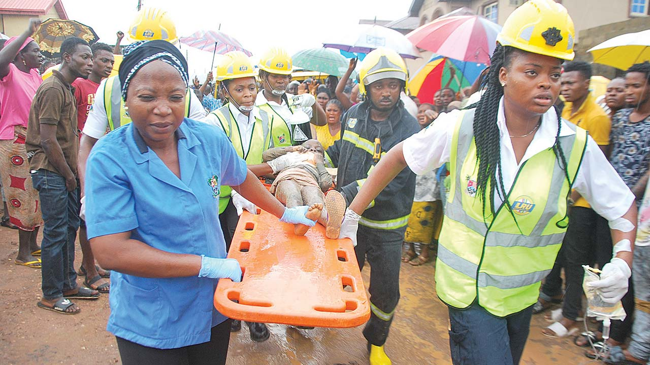 Two killed in Lagos building collapse