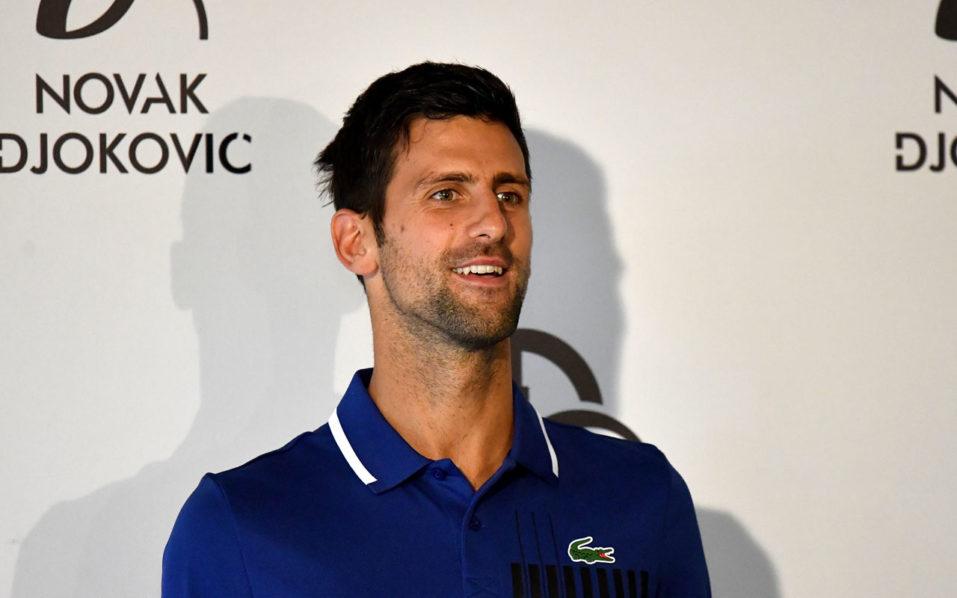 SPORT: Djokovic hopes to imitate take-a-break Federer
