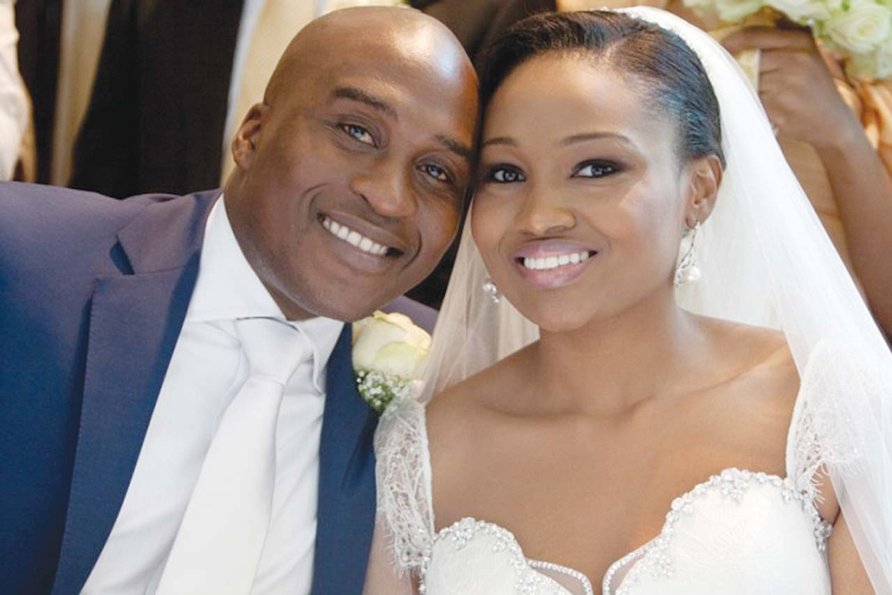 Adenuga stages private wedding for daughter, Oyin | The