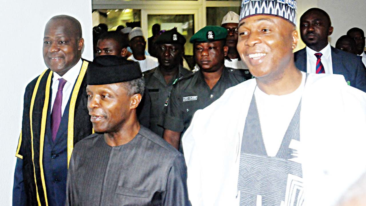 Osinbajo swears in two ministers
