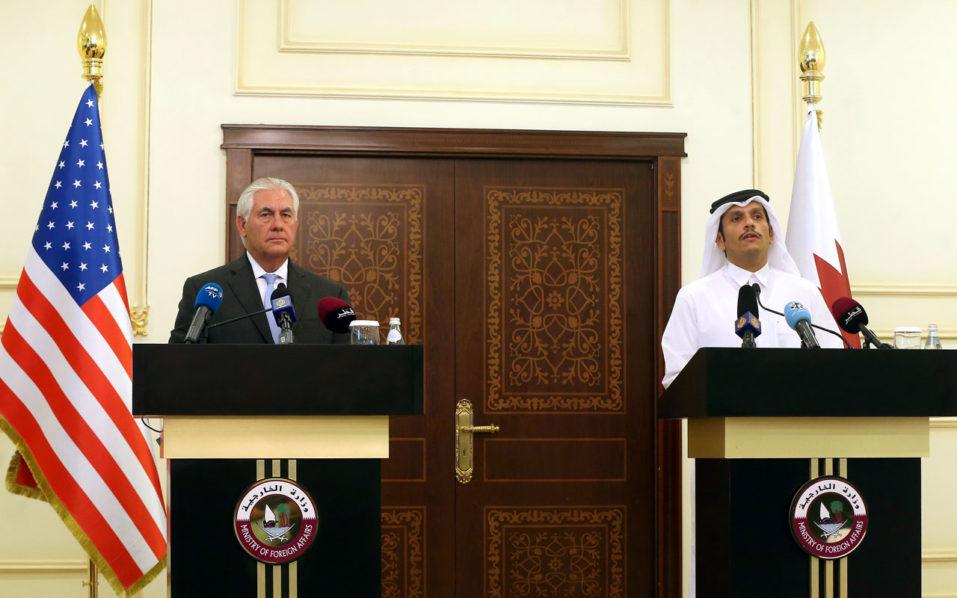 Us Qatar Sign Agreement On Fighting Terrorism World The