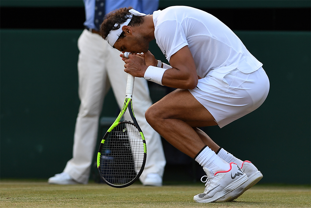 Rafael Nadal stunned by Gilles Muller in Wimbledon epic