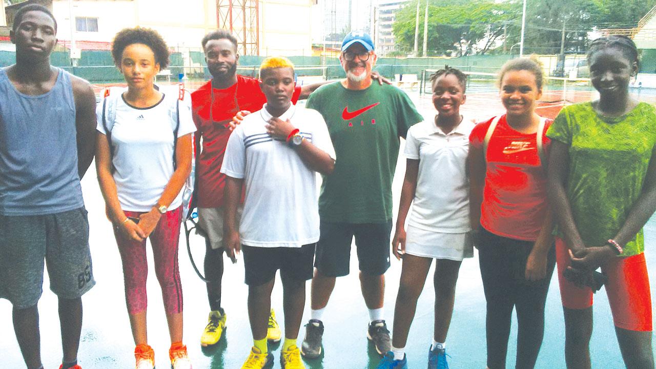 SPORT: Spanish coach thrilled by emerging Nigerian tennis talents