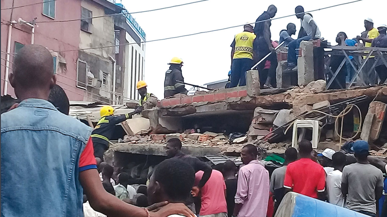 Rescue efforts end in Nigeria building collapse