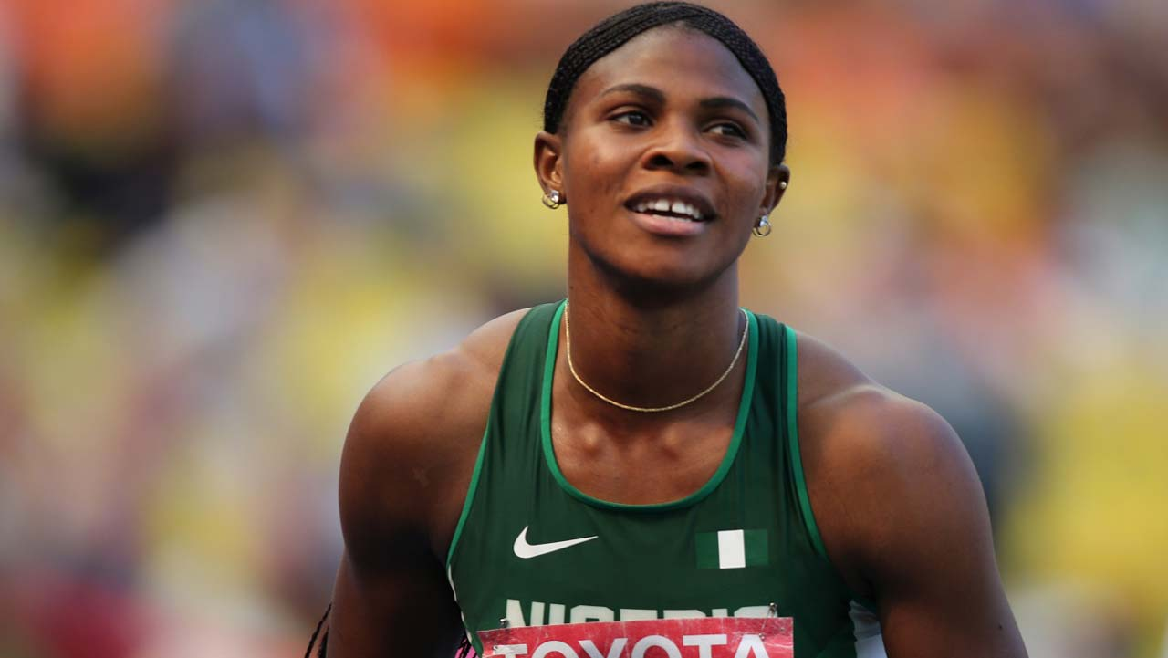 Okagbare, Egwin hit London, other athletes stranded in Lagos
