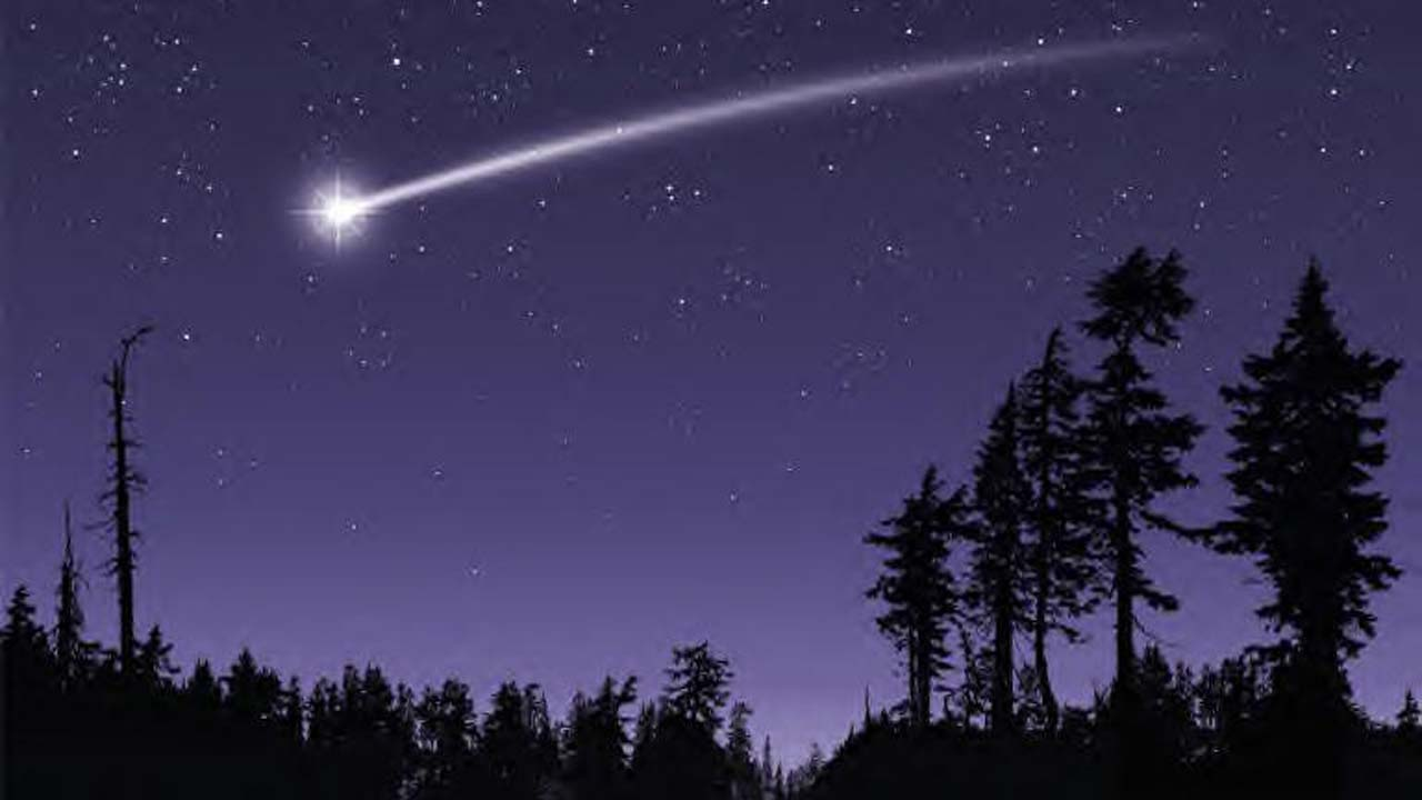 Shooting pictures stars of
