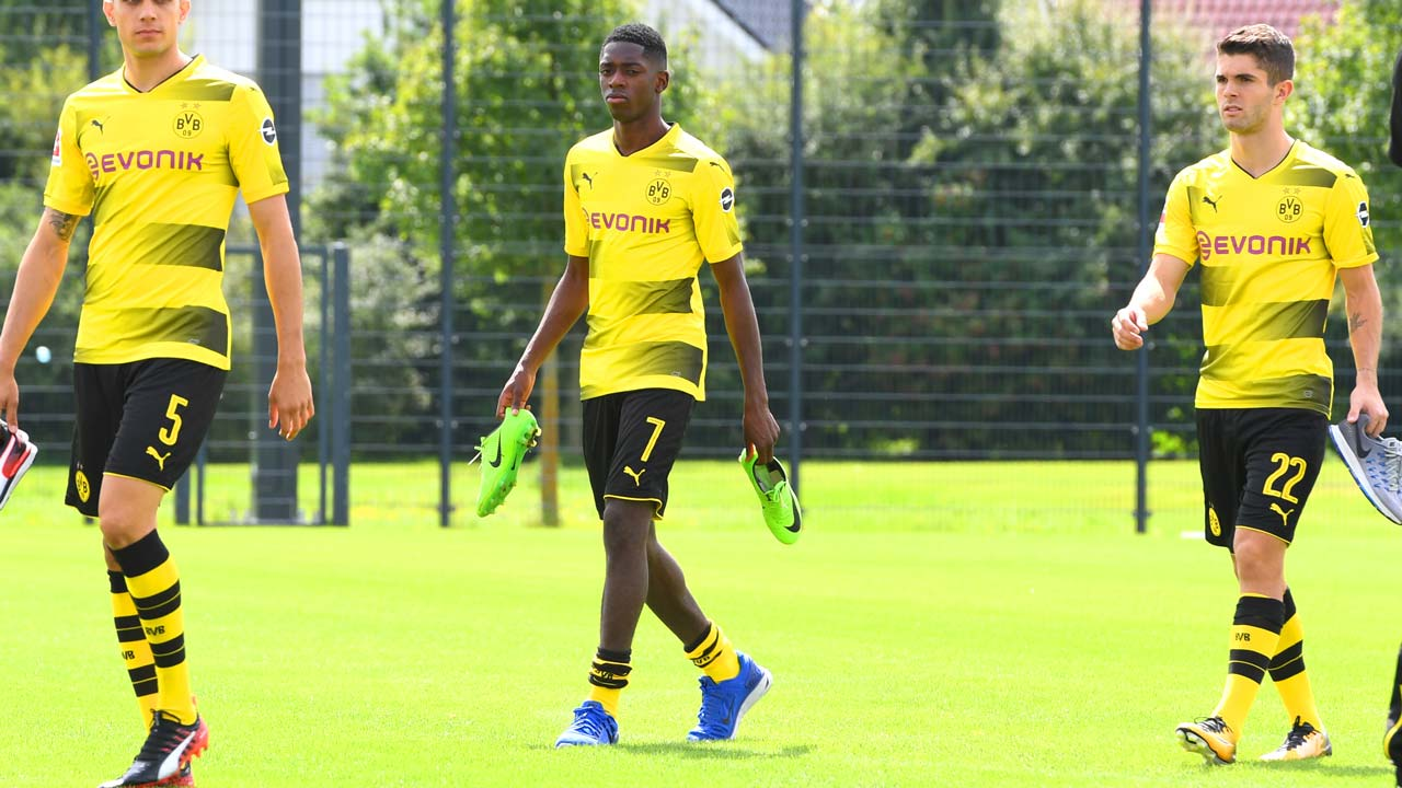 Borussia Dortmund suspends Ousmane Dembele 'until further notice'