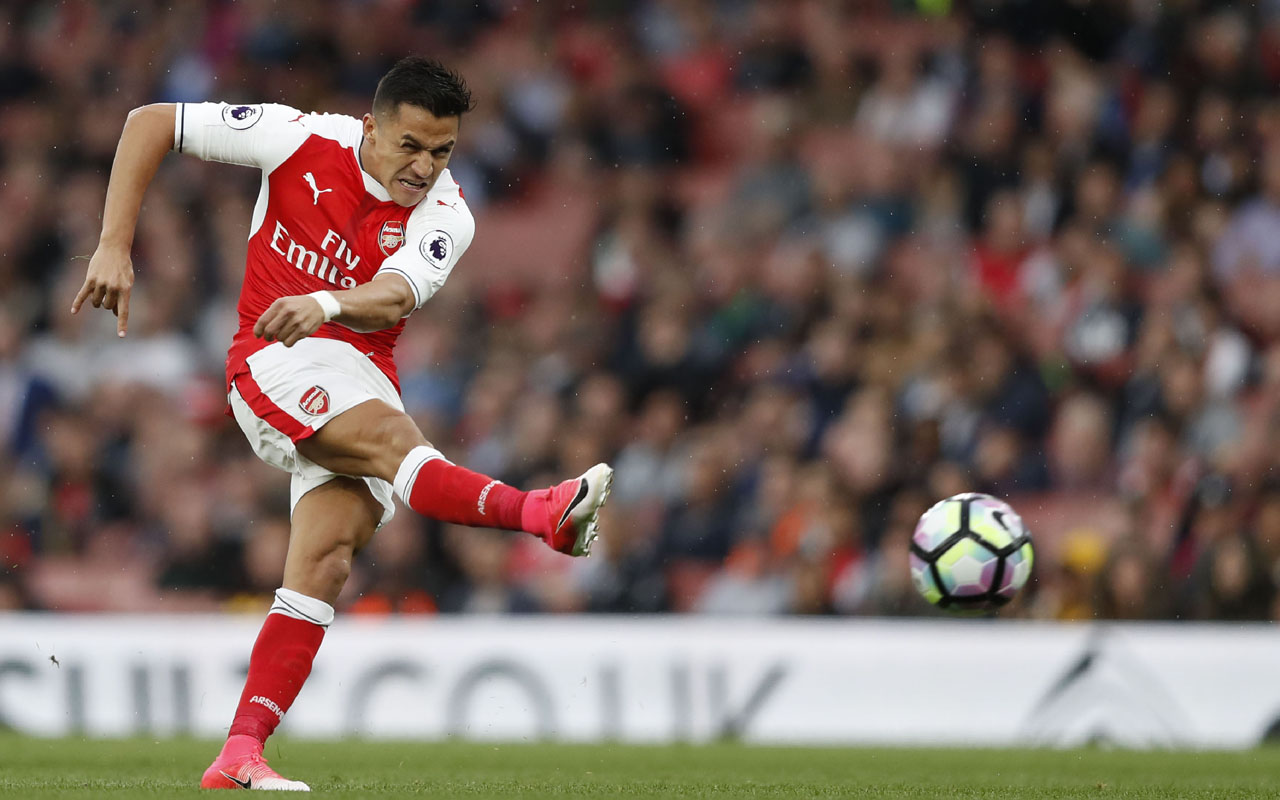 Arsenal's Arsene Wenger 'not super optimistic' on Alexis Sanchez stay
