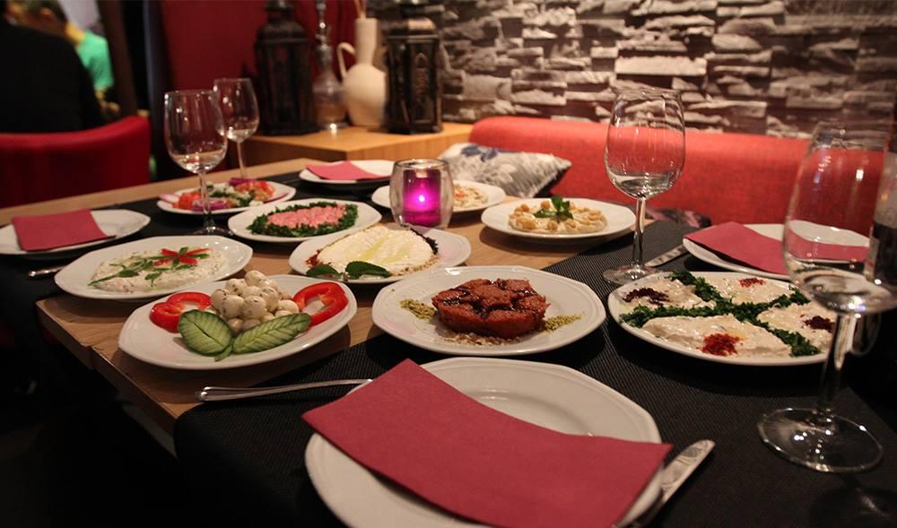 Michelle dede the city i m in for Arabesque lebanon cuisine