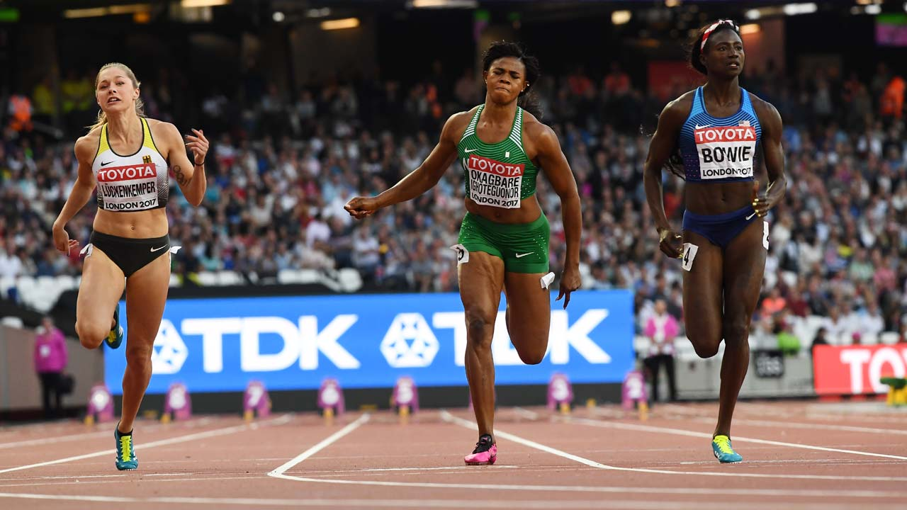 Image result for okagbare