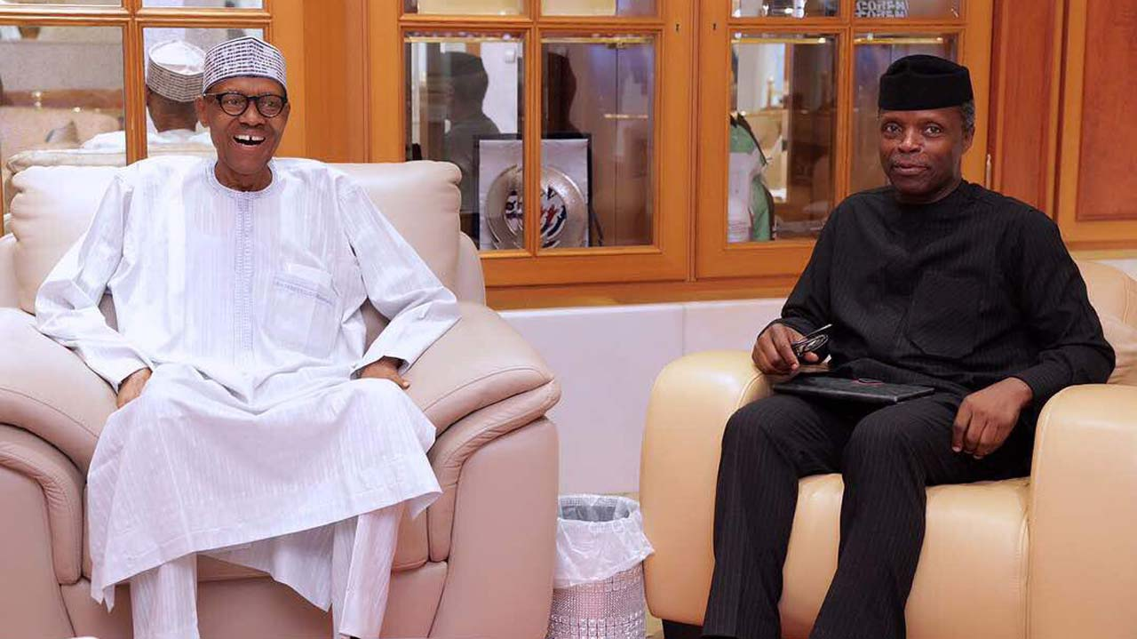 Osinbajo demonstrated great loyalty to Nigeria in your absence - Governors tell Buhari