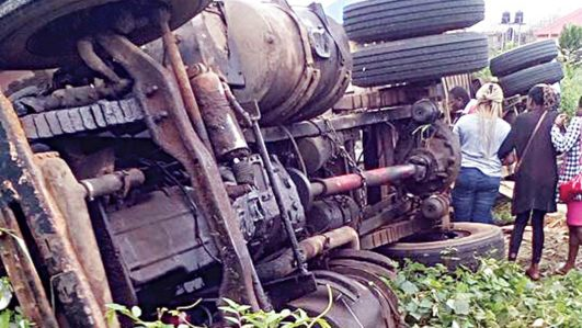 Container falls, crushes students to death in Owerri