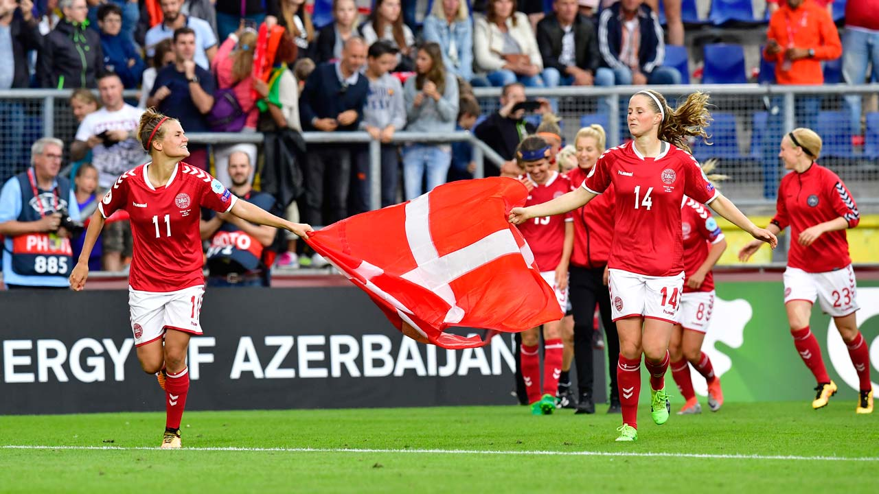 Denmark beats Austria in Women's Euros semi