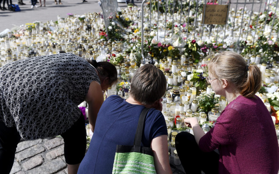 Police request detention for five suspects in Finland attack