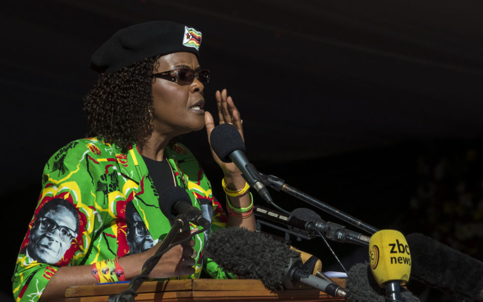 Grace Mugabe back in Zimbabwe despite assault charge in South Africa