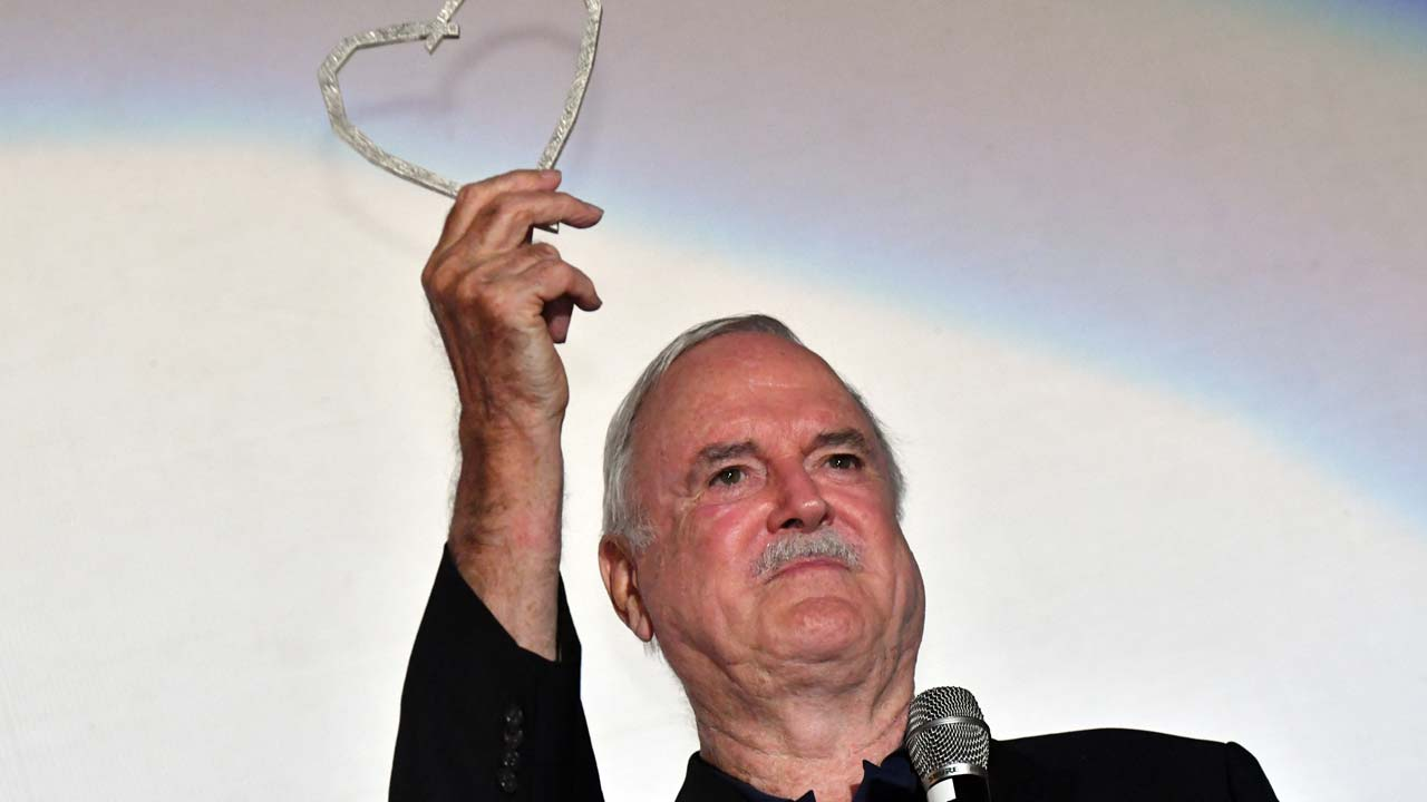 John Cleese says comedians needed more than ever