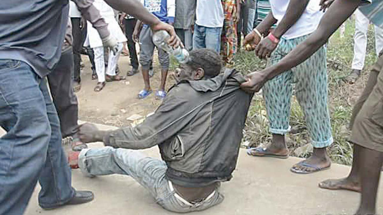 jungle justice Cameroonians who have no faith in the police are taking the law into their own hands - with brutal and bloody results.