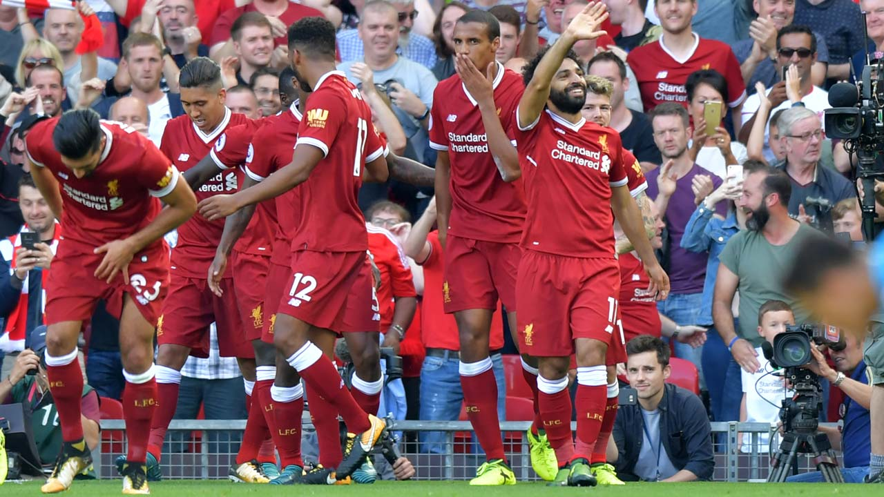 Liverpool thrash Arsenal 4-0 at Anfield