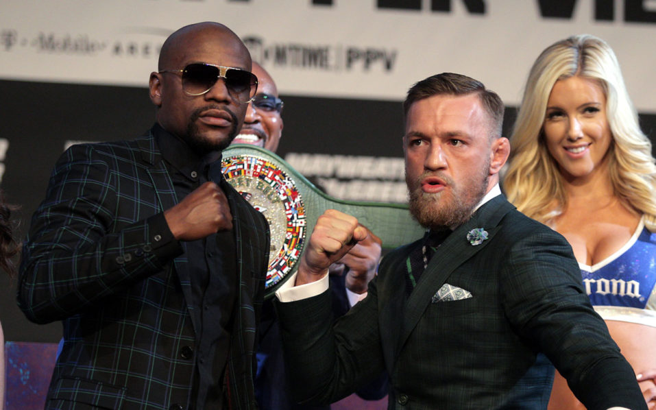 Mayweather's dad on McGregor: 'I'd knock him out'