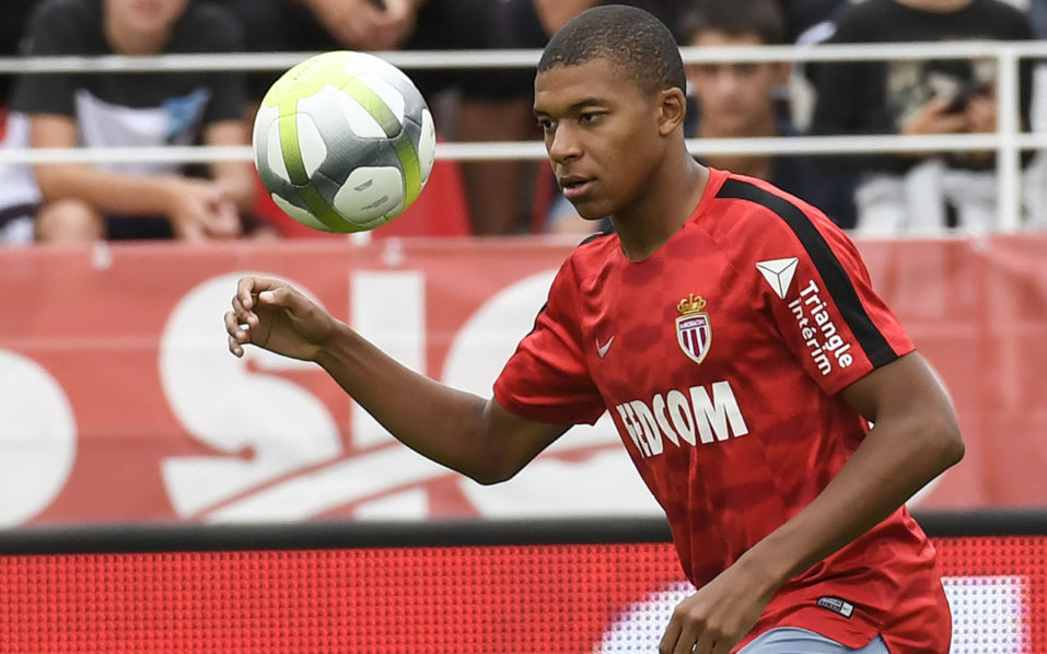 Kylian Mbappe: PSG target is left out of Monaco squad