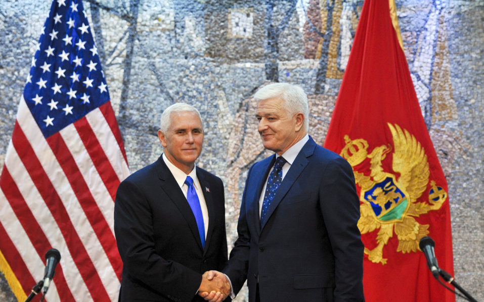 US Vice President Arrives In Montenegro At End Of Eastern Europe Trip