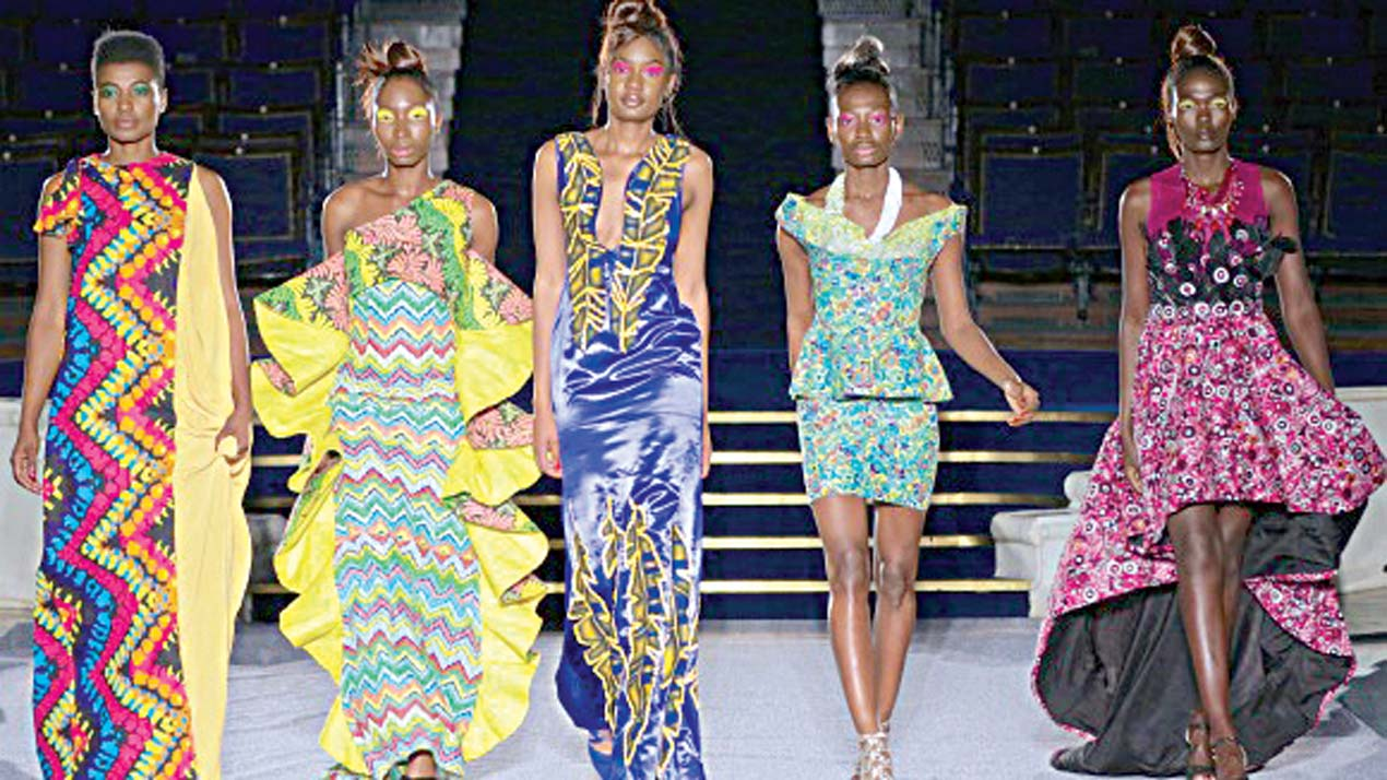 Queen Moremi Ajasoro Designs On London Runway Guardian Arts The Guardian Nigeria News Nigeria And World News