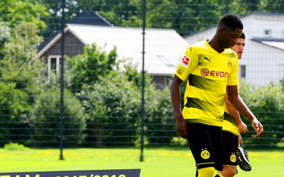 Want-away Dembele irks Dortmund team-mates