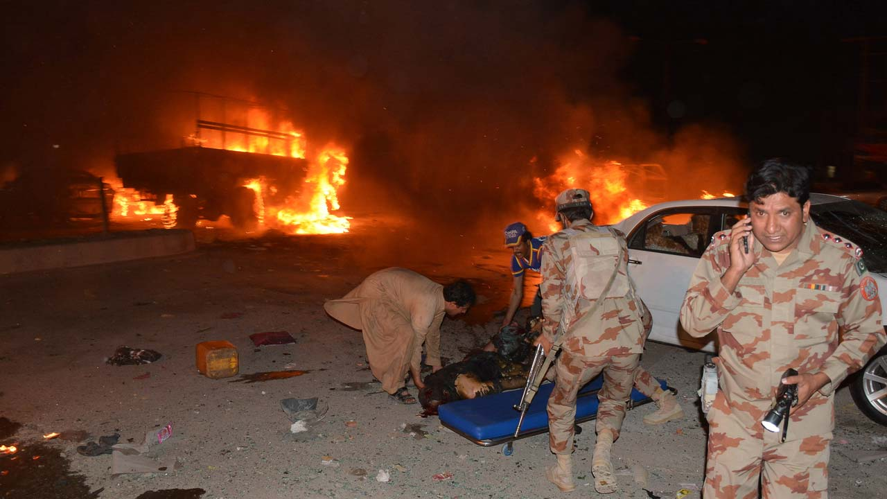 Blast targeting military vehicle kills 15 people in Quetta