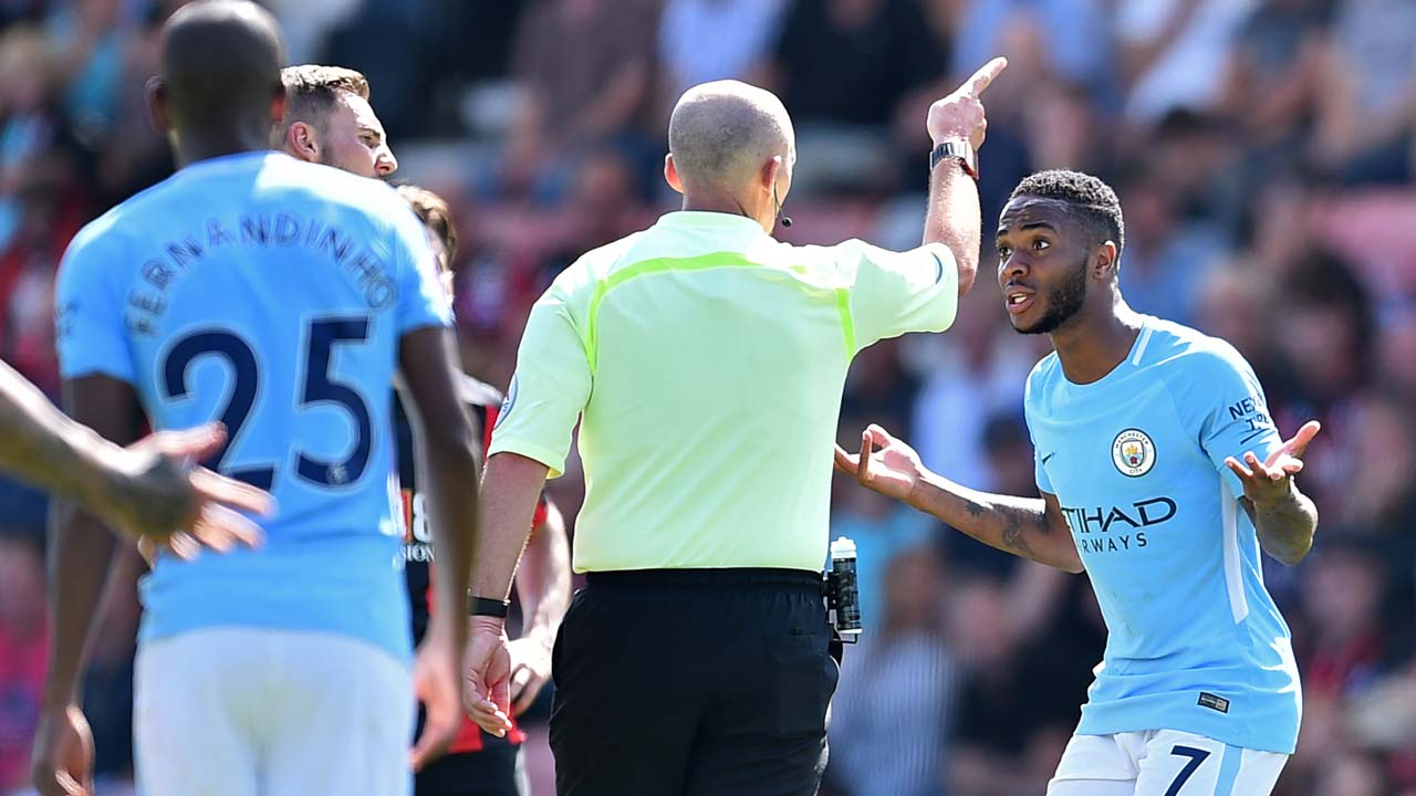 Image result for sterling red card
