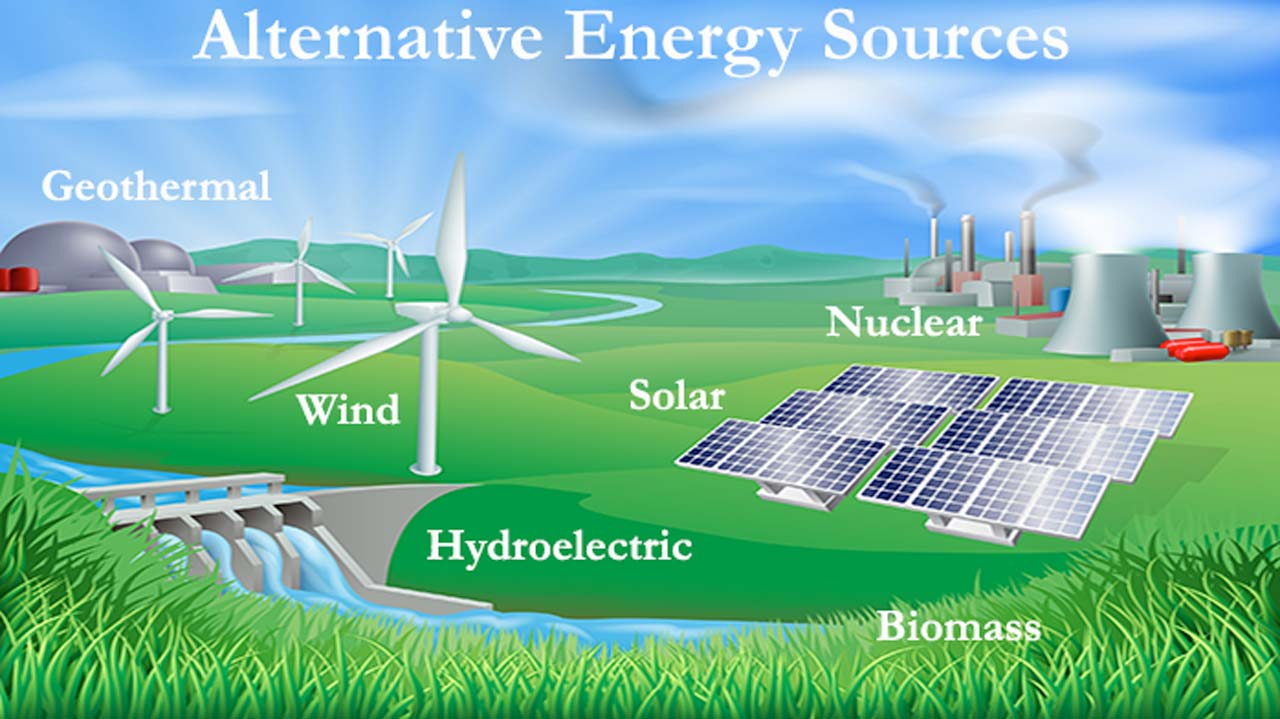 Alternative Energy Sources Wallpaper