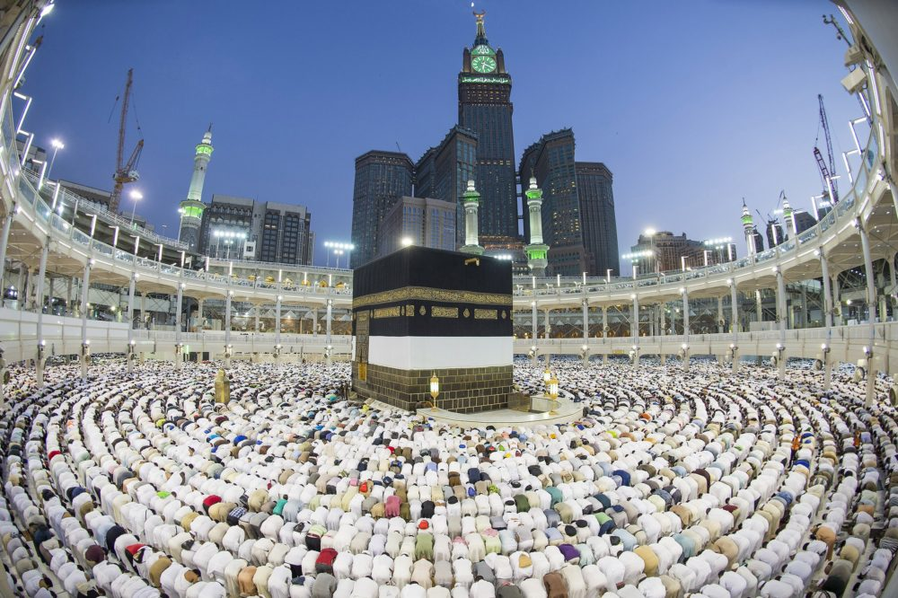 Saudi Arabia says 1 497m pilgrims arrive for Hajj | The Guardian