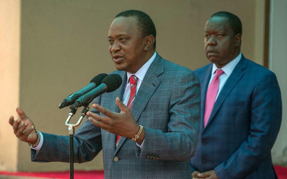 Fuming Kenyatta hits out at judiciary over poll cancellation