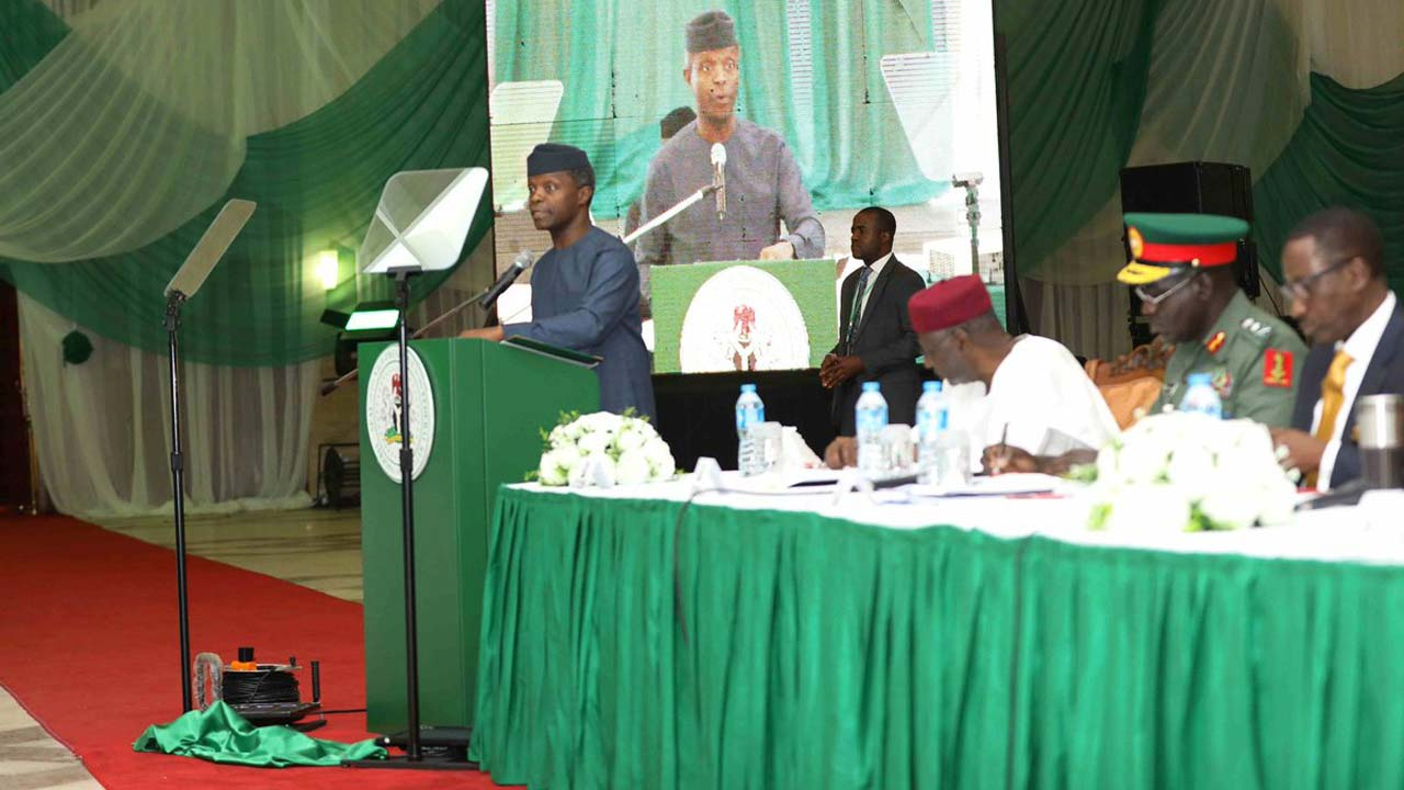 We'll treat hate speech as terrorism, Osinbajo warns