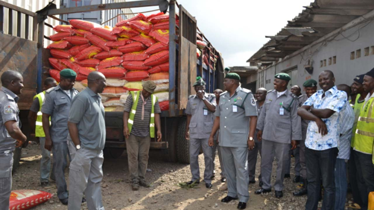 Image result for Customs Strike force zone A seizes N500m contraband
