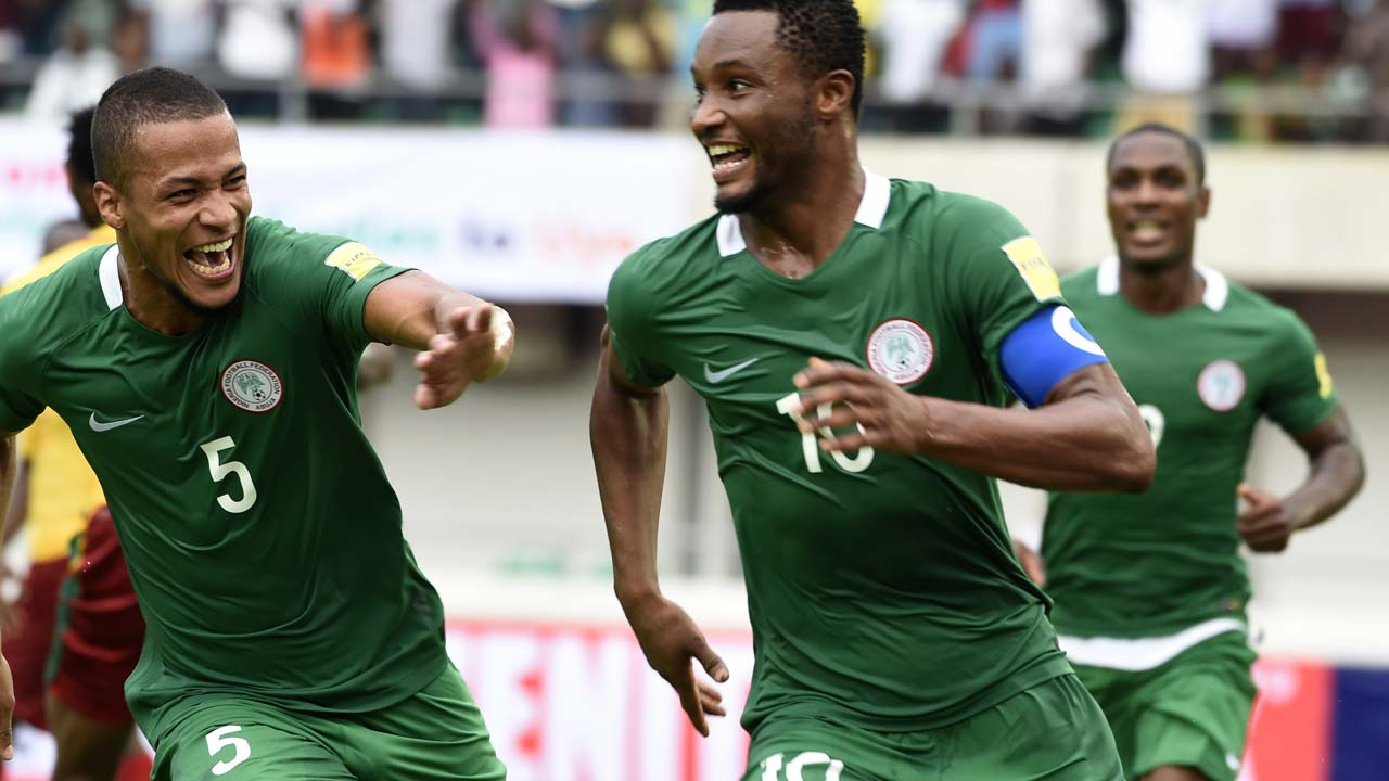Buhari congratulates the Super Eagles after impressive win over Cameroon