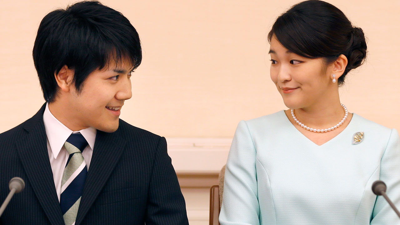 Japan's Princess Mako engaged to college love