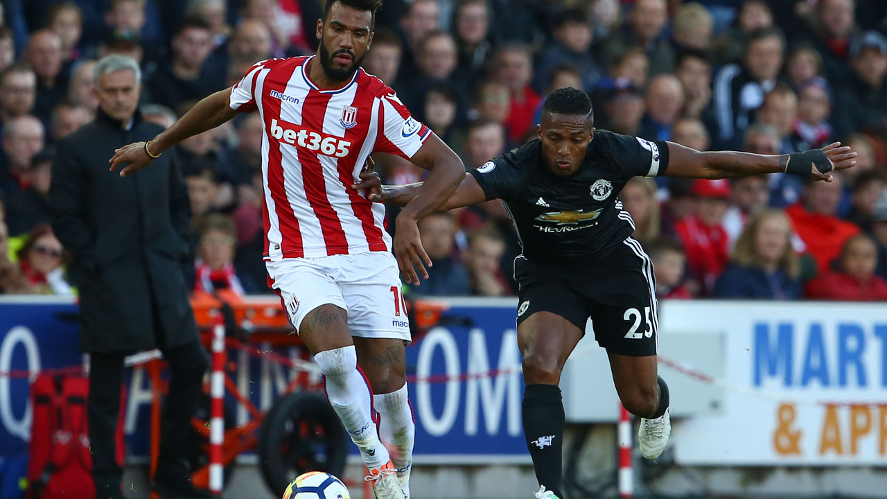 Maxim Choupo-Moting stops Manchester United motoring and earns Stoke a point