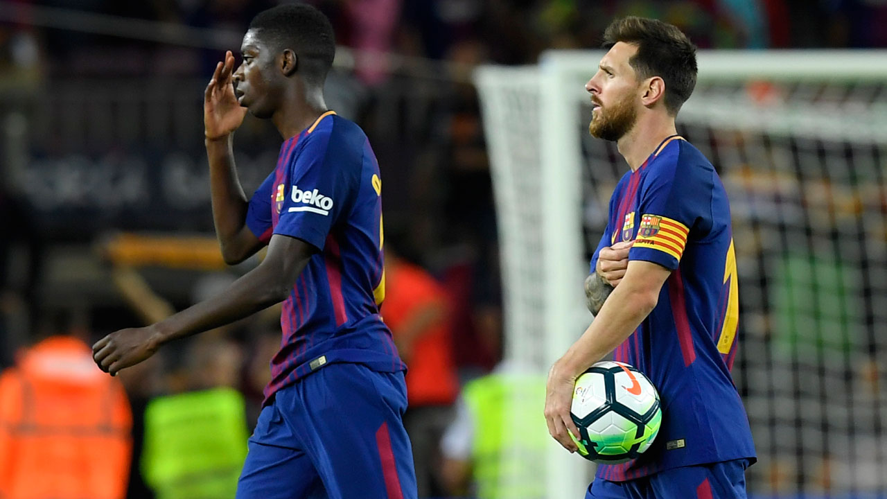 Dembele handed first Barca start against Juventus — Sport — The