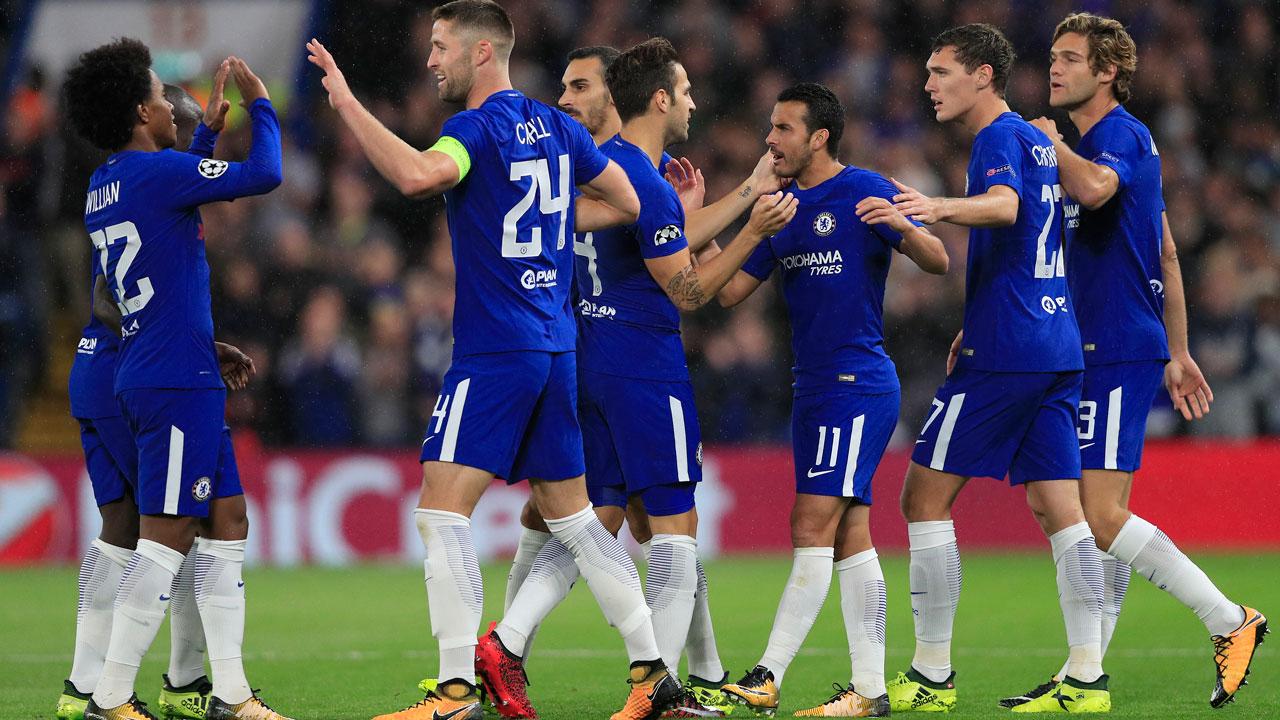 Rampant Chelsea hit Qarabag for six
