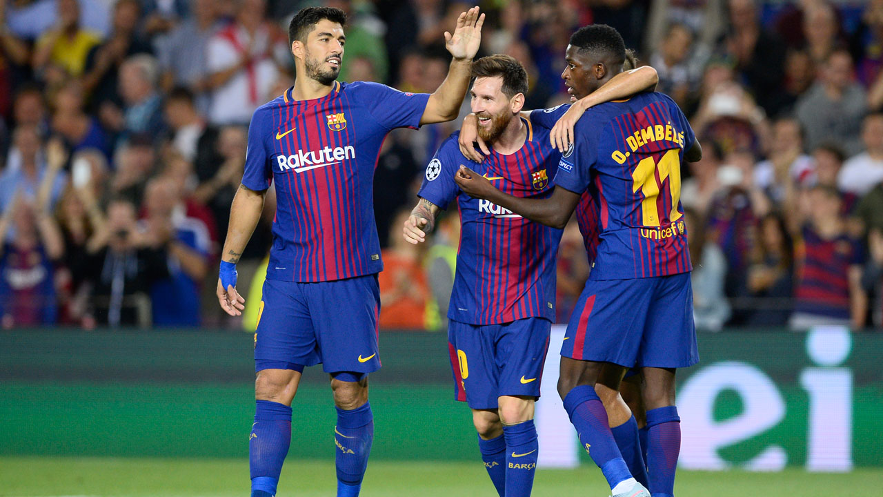 Messi's double inspires Barca to Juventus revenge