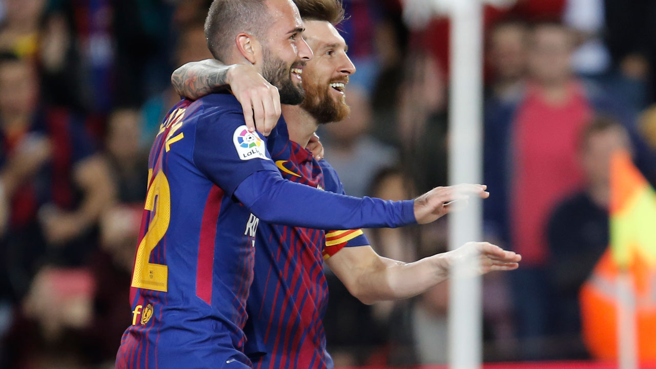 SPORT: Messi hits four as Barca maintain perfect start