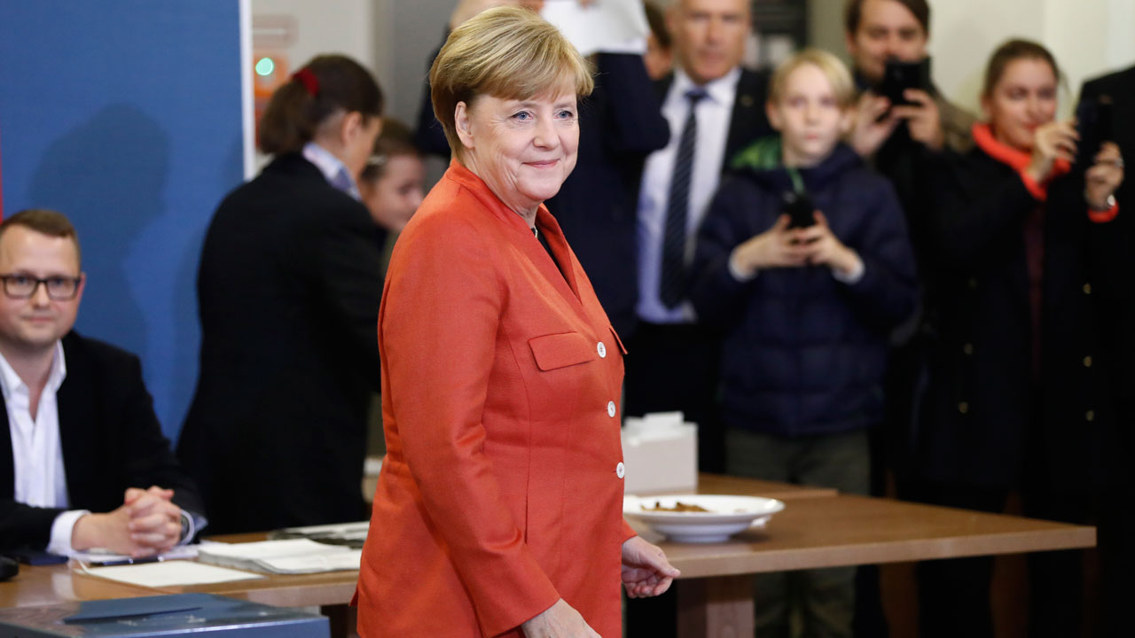 Angela Merkel wins fourth term