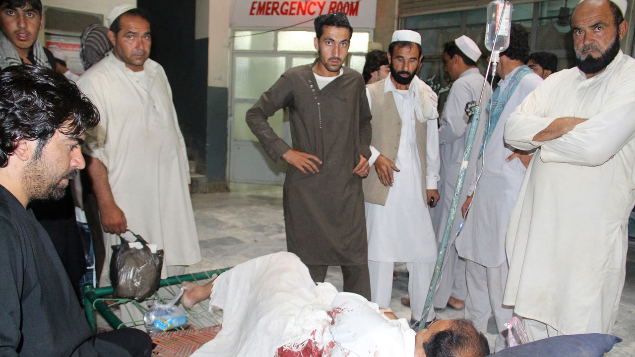 6 civilians killed Afghanistan bombings""