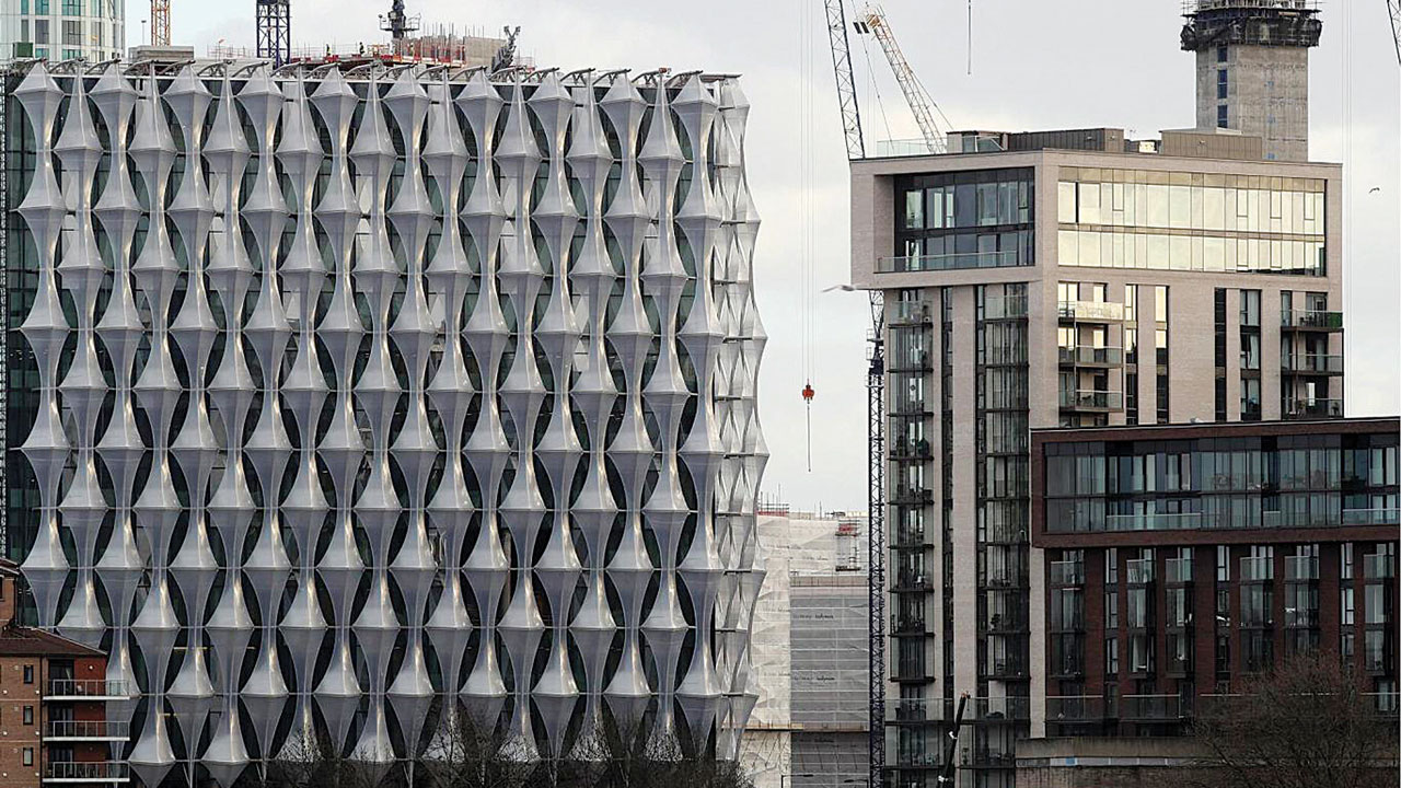 Construction Continues At The New U S Embassy And Diplomatic Quarter In London Dan Kitwood Getty Images
