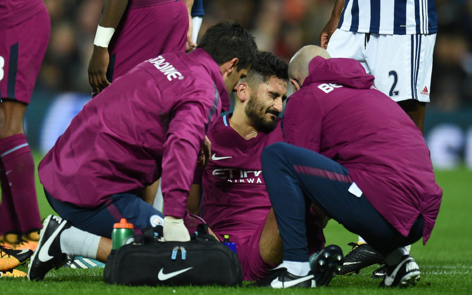 Ilkay Gundogan: Man City midfielder back soon after knee sprain