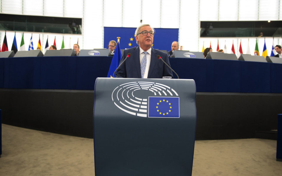 Juncker delivers EU State of the Union speech
